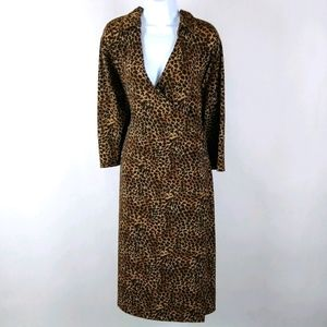 Soft by Avenue faux wrap dress